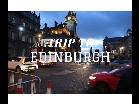 TRAVEL VLOG UK DAY 2: TRIP KE EDINBURGH DAN SHORT CITY TOUR
