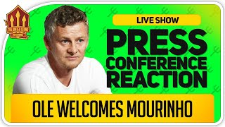 Solskjaer Press Conference Reaction! Ole Talks Mourinho!