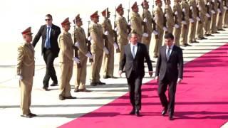 وزير الدفاع الأمريكي يصل أربيل قادماً من بغداد