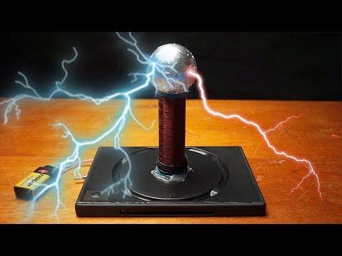 How to make a mini Tesla Coil – Easy Tutorial
