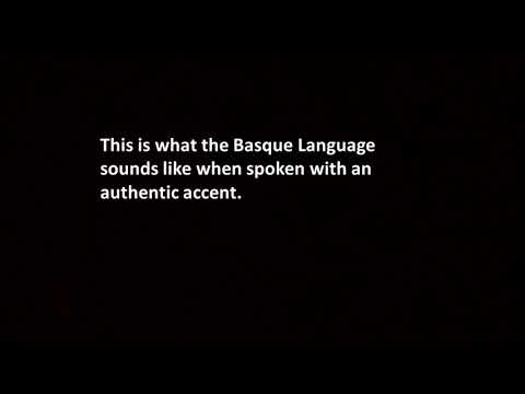 The Sound of Basque Without an Accent