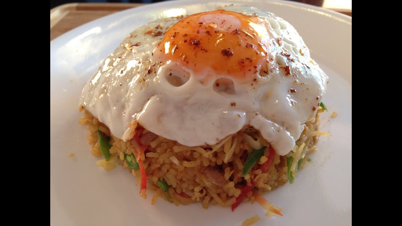 Nasi Goreng, Indonesian Fried Rice Recipe - YouTube