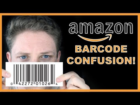 Amazon FBA Barcode Explanation! Where To Get Them & How To Use Them (2018)