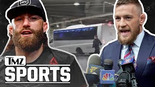 Conor McGregor Sued By UFC's Michael Chiesa Over Barclay's Bus Attack | TMZ Sports