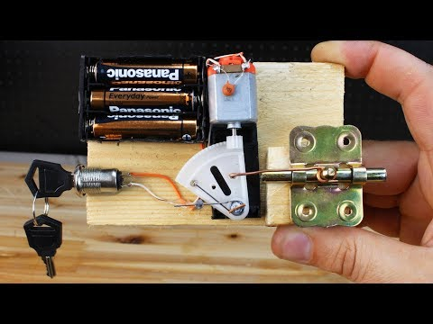 How To Make Electric Door Lock at Home thumbnail