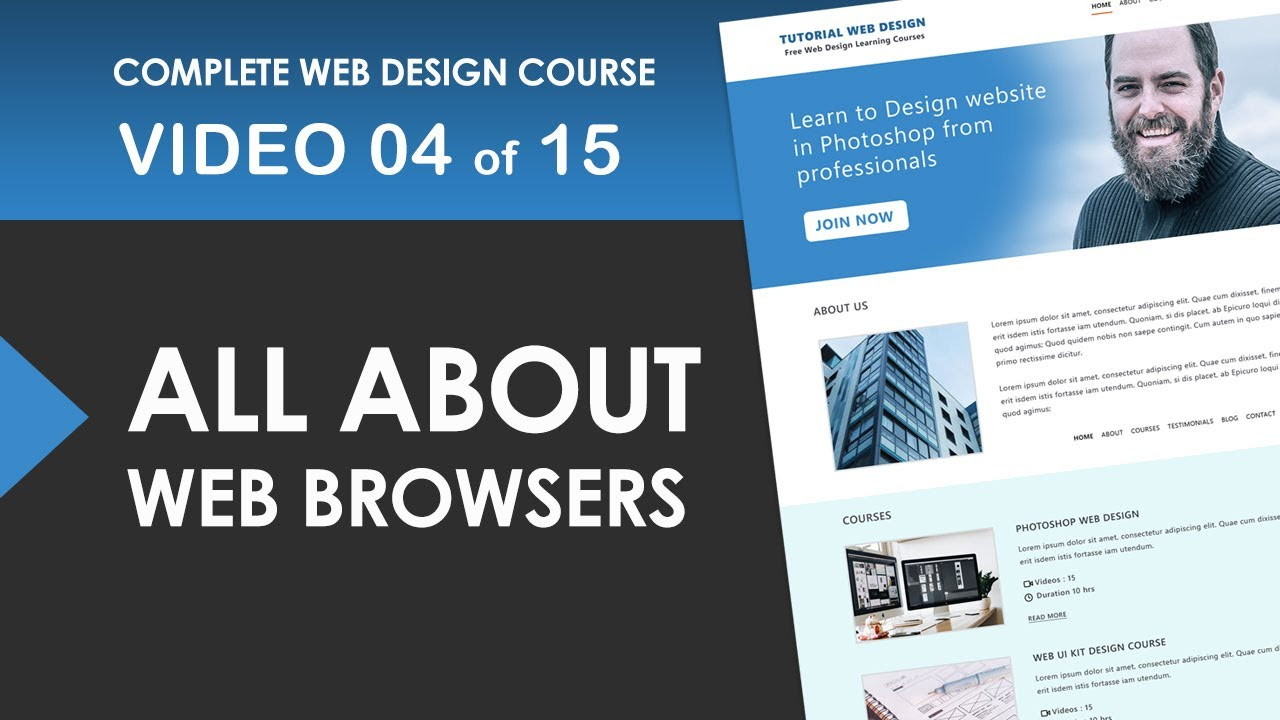 Web Browser - Basic Fundamentals - Free Web Design Course 04