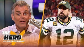 Packers should draft Aaron Rodgers' replacement, Colin has concerns with Joe Burrow | NFL | THE HERD