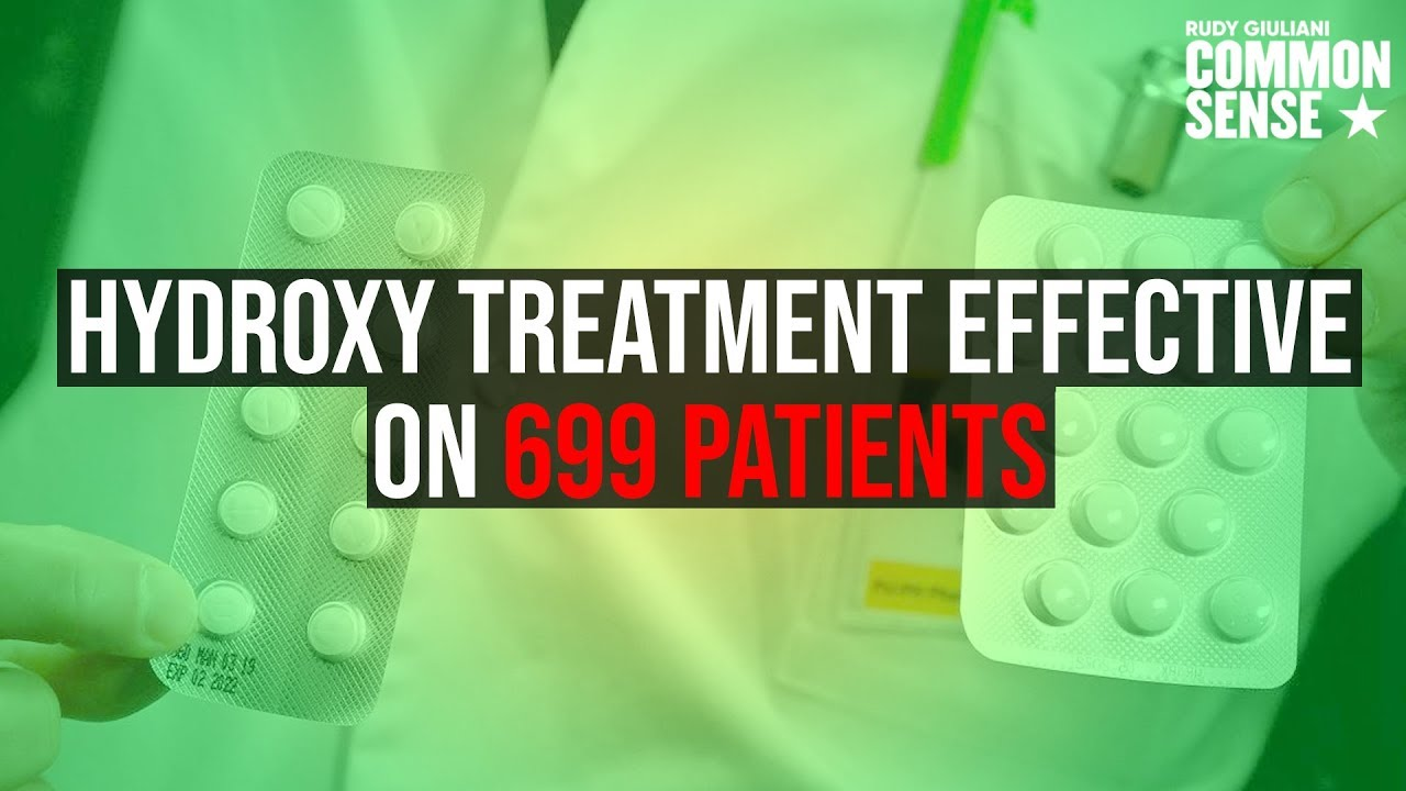 EXCELLENT NEWS: Hydroxychloroquine Treatment Effective on 699 Patients