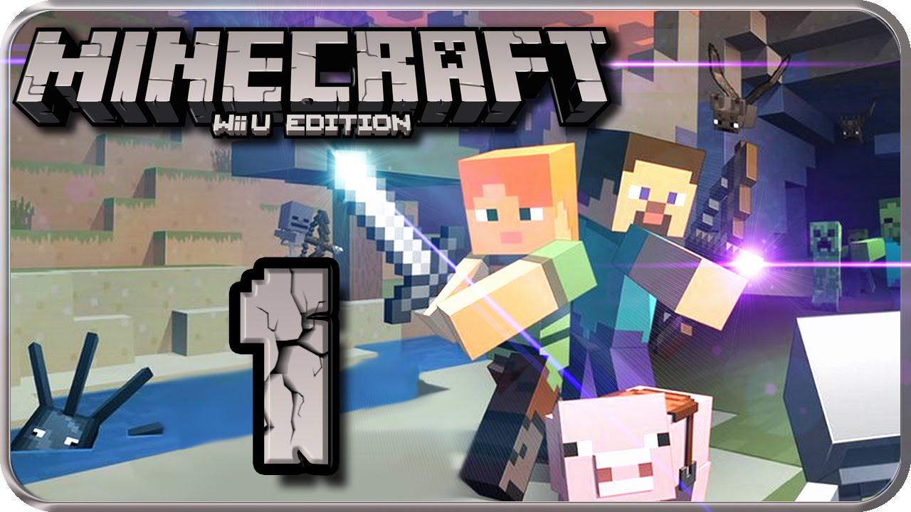 MINECRAFT Wii U EDITION Part Das Craften Auf Der Wii U Beginnt - Minecraft wii u server erstellen deutsch