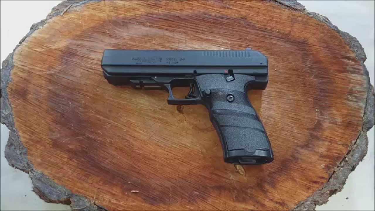 The Most Accurate Bargain Pistol Ever Hi-Point JHP 45