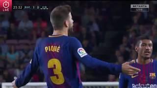 видео: Барселона - Эйбар, Прямая трансляция.\Barcelona - Eibar - LIVE 20.09.2017 Messi делает покер!