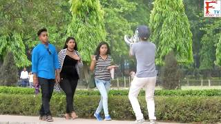 Asia Cup Invisible Cricket April Fool Prank on Girls!Gone Funny!FunkyTv