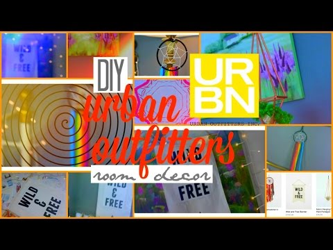 diy urban outfitters inspired room decor!