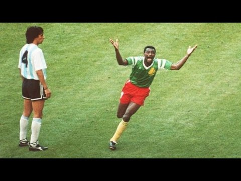 Argentina - Cameroon World Cup 1990 Italy 1st half