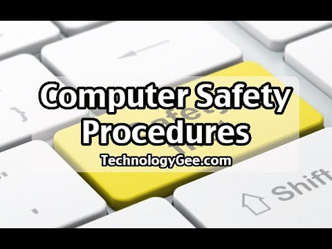 Computer Safety Procedures | CompTIA A+ 220-1002 | 4.4