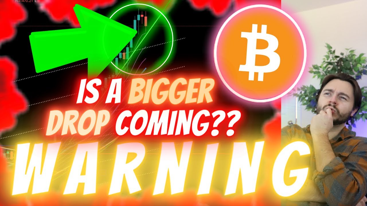 **EMERGENCY* IS THIS BITCOIN DROP ONLY BEGINNING?? - HERE'S WHAT TO LOOK FOR! (Get Ready!!!)