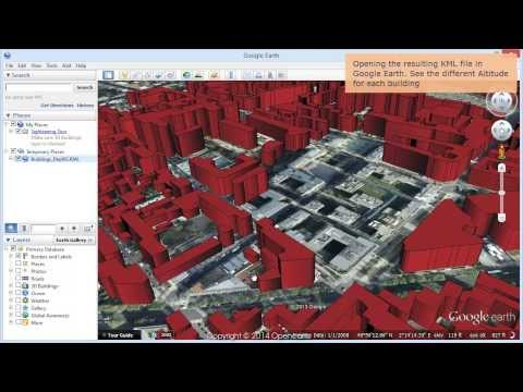 Create 3D Buildings in Google Earth from SHP files - Spatial Manager Blog
