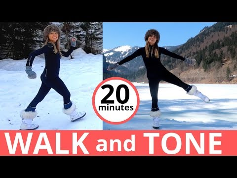 WALKING WORKOUT WALK AND TONE AT HOME -WALK EXERCISE FOR WEIGHT LOSS & HEALTH HOME WORKOUT
