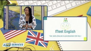 ETV SERVICES: MEET ENGLISH