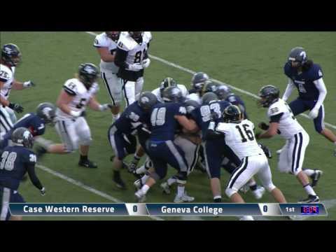 Spartan Football: Case Western Reserve University vs. Geneva College - 1st Half