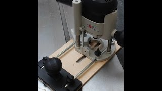 Circle-cutting Jig For Festool 1010 Router