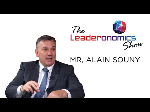 The Leaderonomics Show - Mr Alain Souny, VP for Human Resour