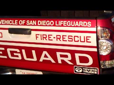 San Diego Official LifeGuard Trucks - TOYOTA