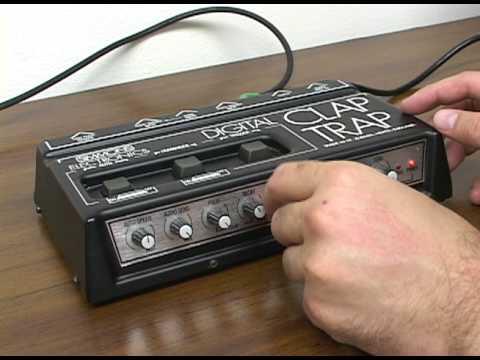Simmons Digital Clap Trap Demo