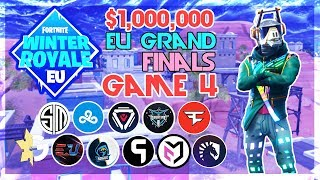 $1,000,000🥊 EU Winter Royale Grand Finals🥊 Game 4 (Fortnite)