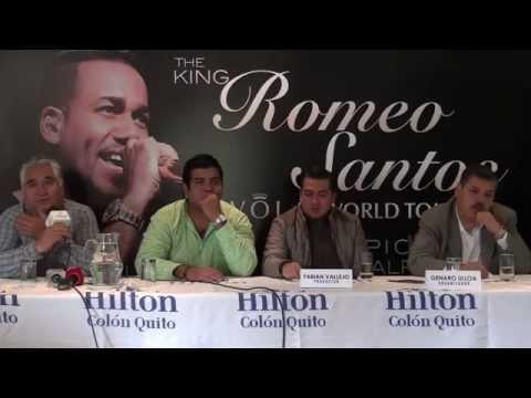 Ver Video de Romeo Santos Rueda de prensa Romeo Santos Vol 2 World Tour 2015