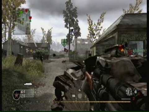 Call of Duty Modern Warfare Reflex (CoD 4 Wii) Gameplay