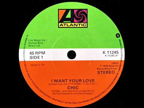 Chic  I Want Your Love Dj S Remix