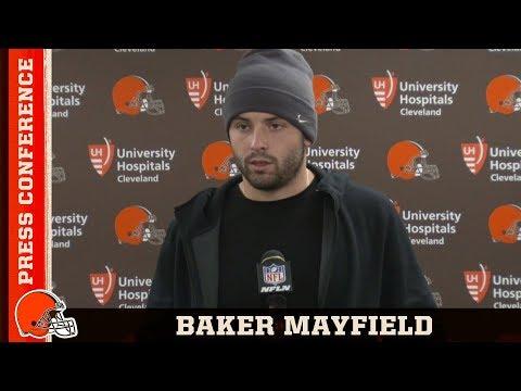 Baker Mayfield Postgame Press Conference vs. Steelers | Cleveland Browns