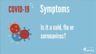 COVID-19 symptoms: Is it a cold, flu or coronavirus?