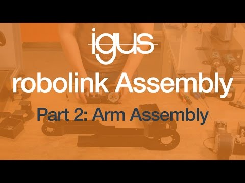 igus® robolink Assembly Part 2 - Arm Assembly