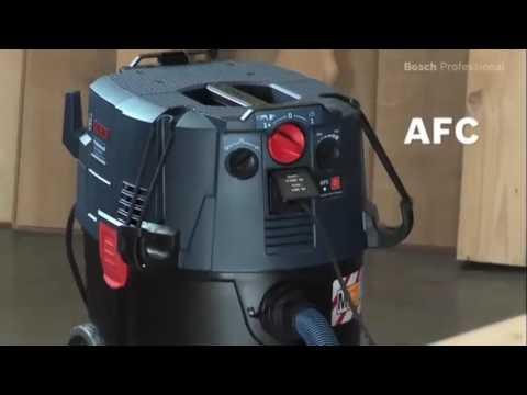 gas 35 m afc aspirateur bosch youtube. Black Bedroom Furniture Sets. Home Design Ideas