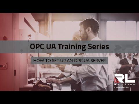 How to Set Up an OPC UA Server