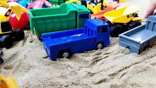 어린이를위한 수영장 장난감 덤프 트럭 운송 공   굴삭…