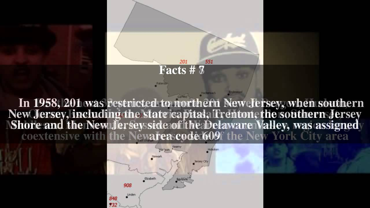 Area Codes 201 And 551 Top 20 Facts