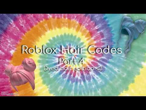Roblox Girl Hair Codes Part 4 Youtube