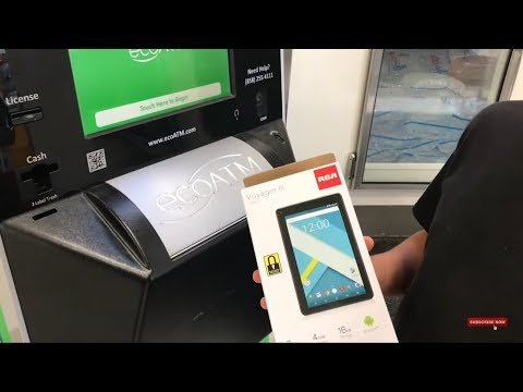 I SOLD A BRAND NEW TABLET TO THE ECO ATM MACHINE!