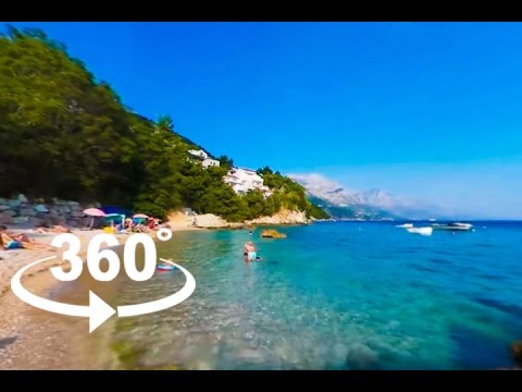VRULJA BEACH — OMIŠ | 360º VR | Pointers Travel