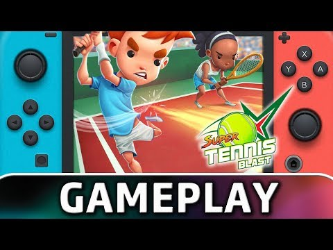 Super Tennis Blast | First 15 Minutes on Nintendo Switch