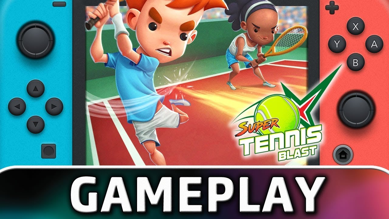 Super Tennis Blast | First 15 Minutes on Nintendo Switch