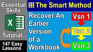 Excel Tutorial: Recover deleted file sections in Microsoft Office | ExcelCentral.com