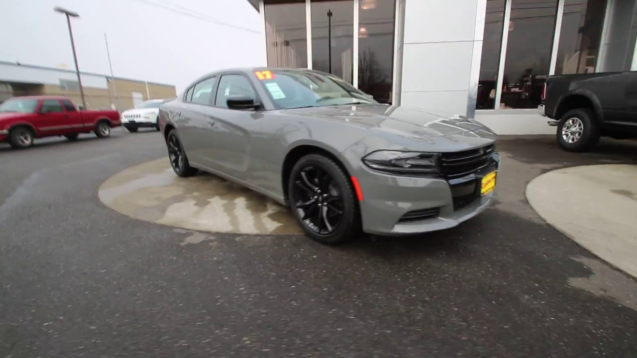 2017 Dodge Charger Se Destroyer Gray Hh543548 Mt Vernon