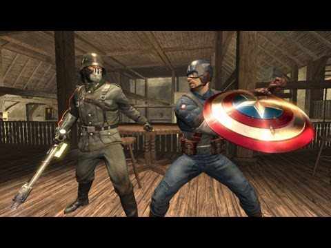 First 30 Minutes: Captain America: Super Soldier [XBOX360/PS3/WII] Part 2/2