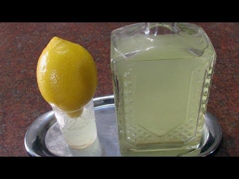Лимонно-имбирная настойка за 15 минут. Проверка рецепта. / Рецепты настоек.