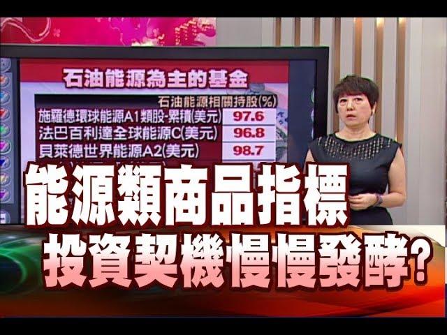 只要錢長大*鄭明娟【油價失速列車 投資機會與風險? 】20180609-3(林奇芬)