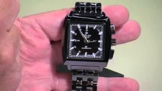 St. Leonhard Exklusive Solar-Funk-Armbanduhr für Herren